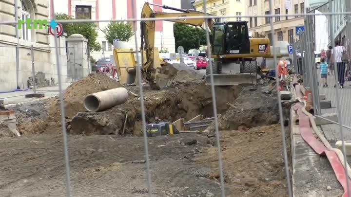 Jablonecký magazín o rekonstrukci Anenského náměstí