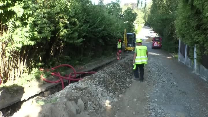 V Novém Boru kompletně opravují Vančurovu ulici