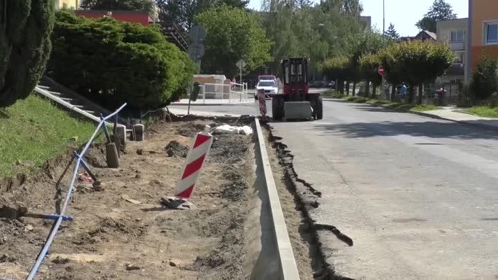 Frýdlant začal s kompletní rekonstrukcí Husovy ulice