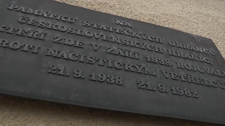Pohraniční obce Libereckého kraje si připomněly události září roku 1938