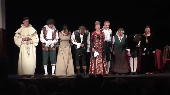 Železnobrodský Divadelní soubor Tyl uvedl premiéru hry Eliška Kateřina