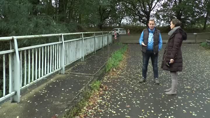 Most v Brništi je kvůli havarijnímu stavu uzavřený
