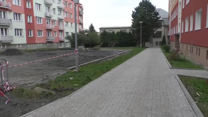 Varnsdorf buduje nové parkoviště na sídlišti ve Východní ulici