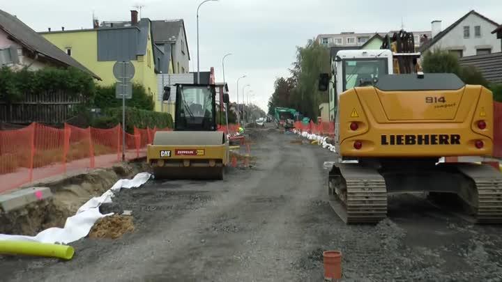 V Hrádku nad Nisou se stále pracuje na rekonstrukci Liberecké ulice
