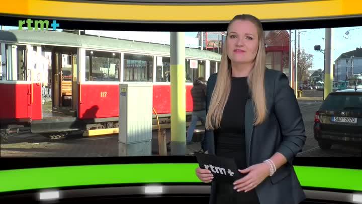 Autobusem, tramvají - listopad 2020