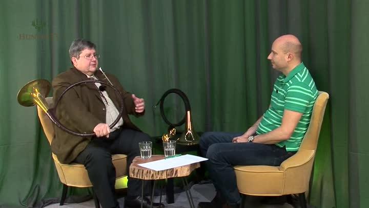 Rozhovor s Petrem Dudou o mysliveckém troubení a loveckých rozích