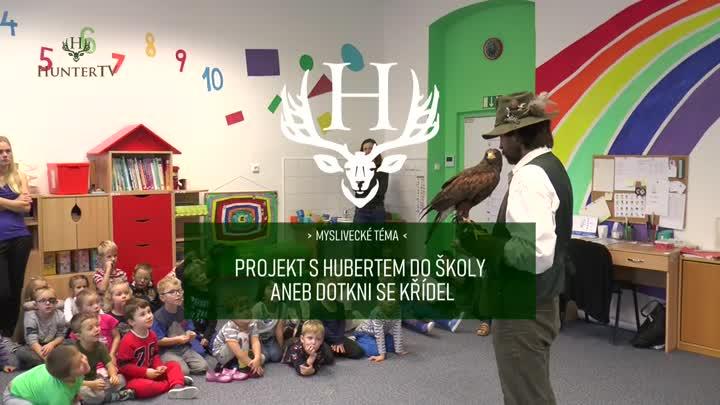 Projekt S Hubertem do školy aneb dotkni se křídel