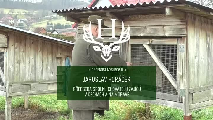 Jaroslav Horáček - předseda Asociace chovatelů zajíců v Čechách a na Moravě