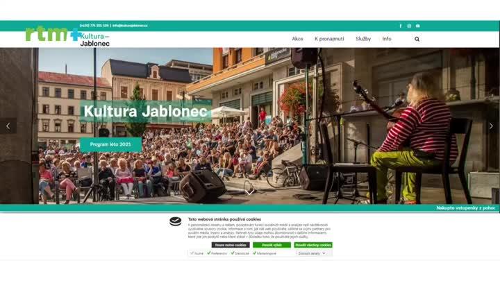 Jablonecký magazín o kulturním létě