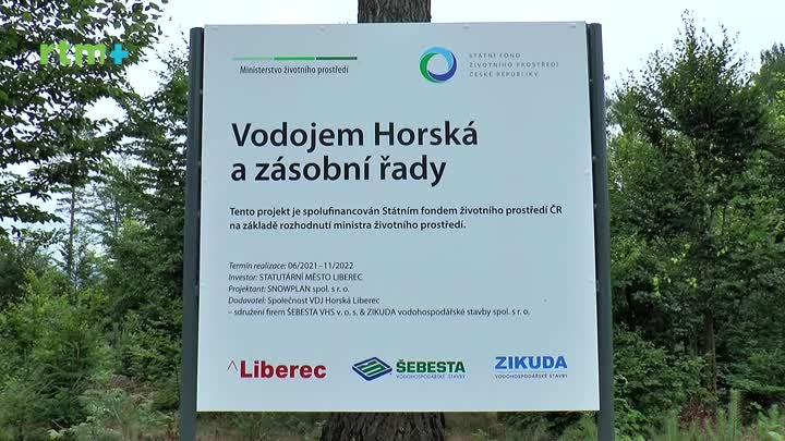 Liberecký magazín nejen o výstavbě vodojemu Horská