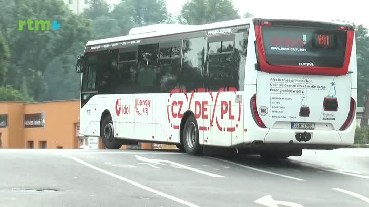 Krajský magazín o mezinárodní autobusové lince 691
