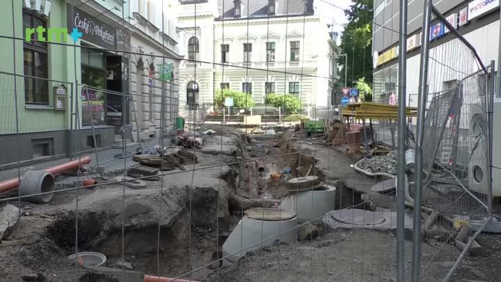 Jablonecký magazín o stavbě u Centrálu