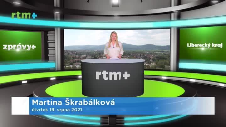 Zprávy z Libereckého kraje, 19. 8. 2021