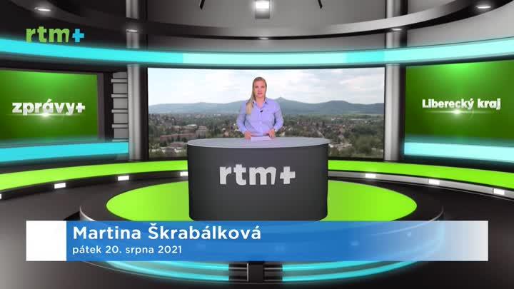 Zprávy z Libereckého kraje, 20. 8. 2021