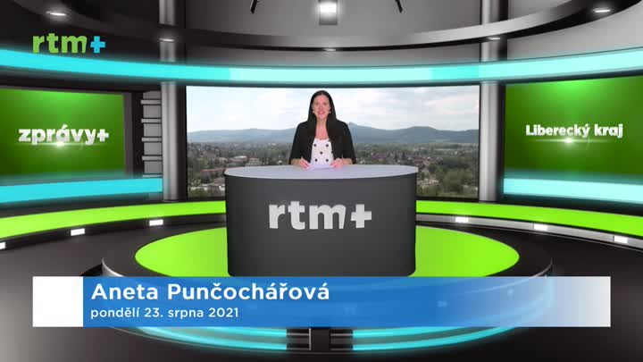 Zprávy z Libereckého kraje, 23. 8. 2021
