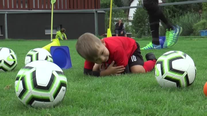 Kopat do míče mohou v Chrastavě děti od 3 let