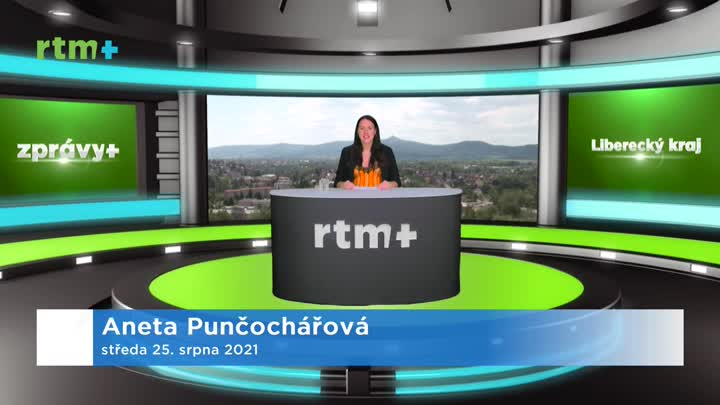 Zprávy z Libereckého kraje, 25. 8. 2021