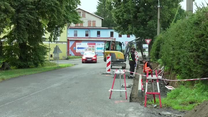 Varnsdorf se opět pustil do úprav městské infrastruktury