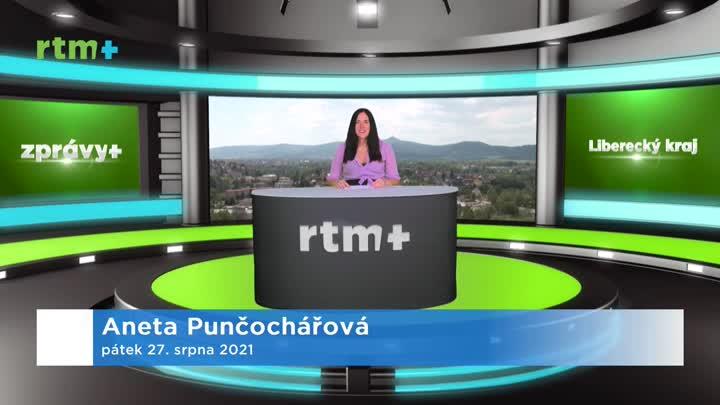 Zprávy z Libereckého kraje, 27. 8. 2021