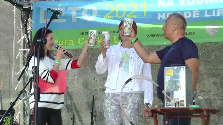 Českolipský vodní hrad Lipý opět oživily Pivní slavnosti