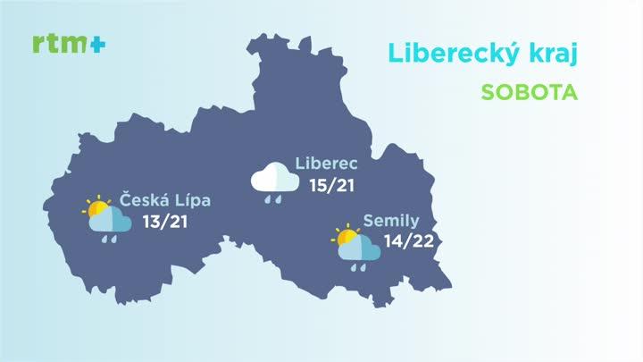Počasí z Libereckého kraje