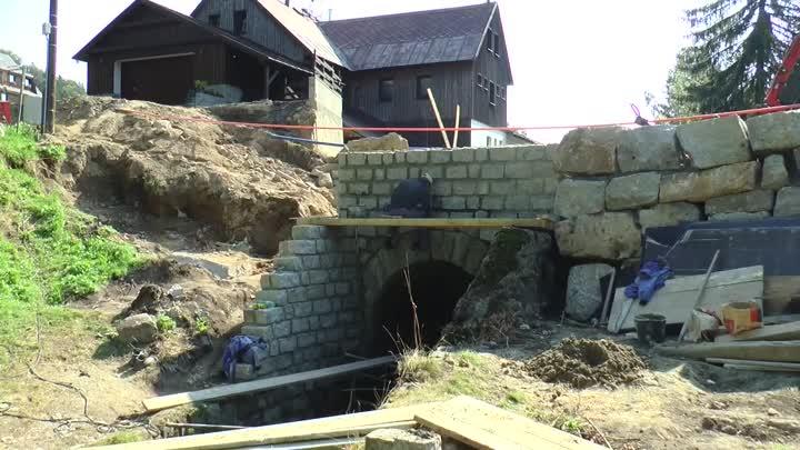 V Bedřichově se postupně blíží do finále oprava silnice a mostu