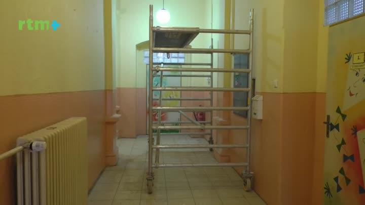 V základní škole v Brozanech nad Ohří probíhá rekonstrukce