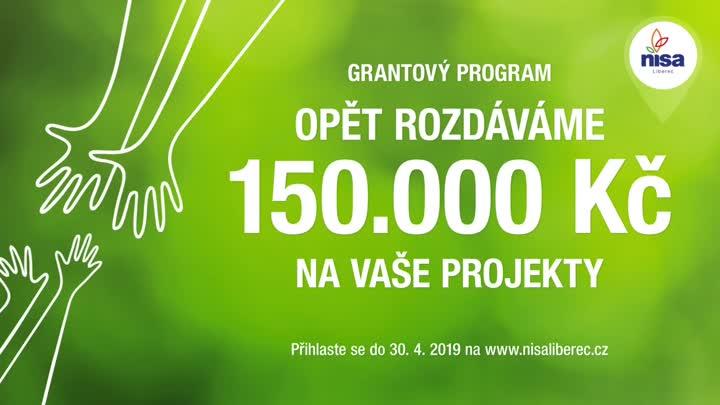 Liberecké OC Nisa vyhlásilo 5. ročník grantového programu
