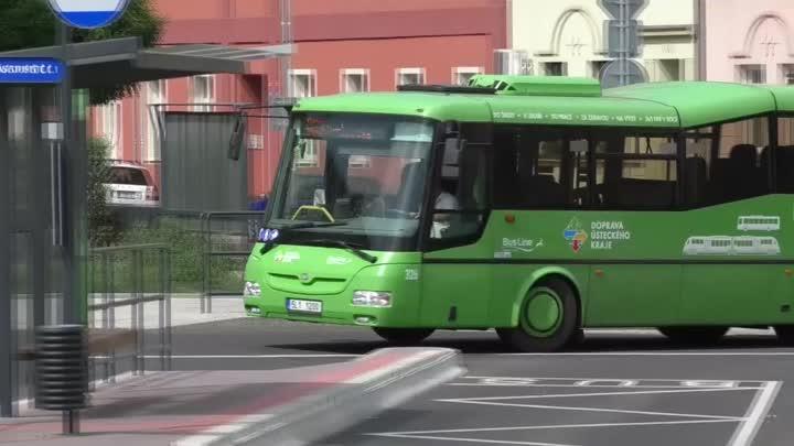ÚOHS zarazil nákup autobusů pro Dopravní společnost Ústeckého kraje