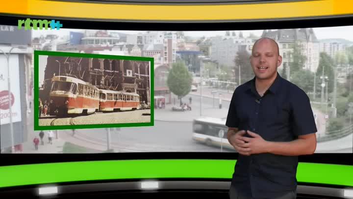 Autobusem, tramvají... - červen 2019