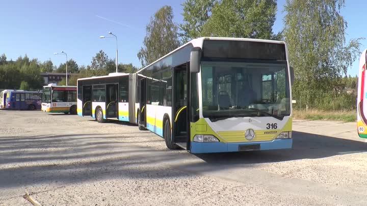 Autobusem, tramvají - říjen 2018