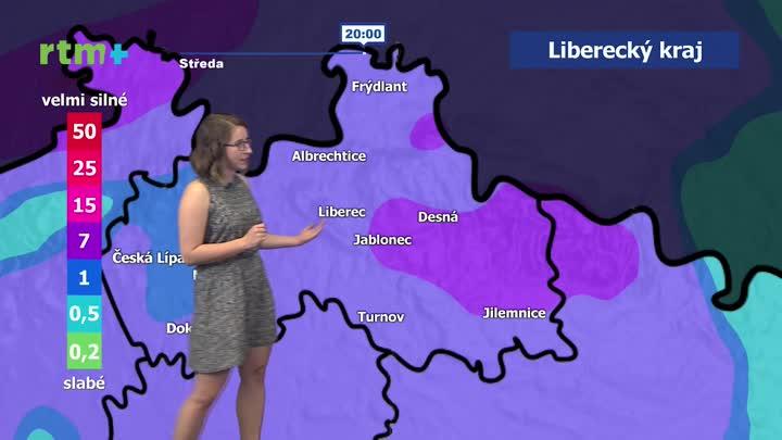 Předpověď počasí pro Liberecký kraj