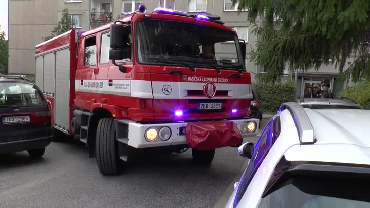 Liberečtí krajští hasiči se zapojili do kampaně 3 metry k životu