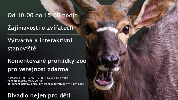 115 let ZOO Liberec - pozvánka na říjnové akce