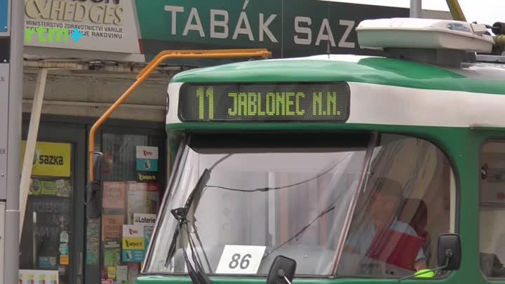 Jablonecký magazín o tramvaji č. 11