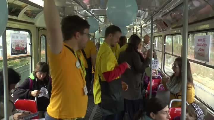 Libercem opět po roce projížděla Tichá tramvaj