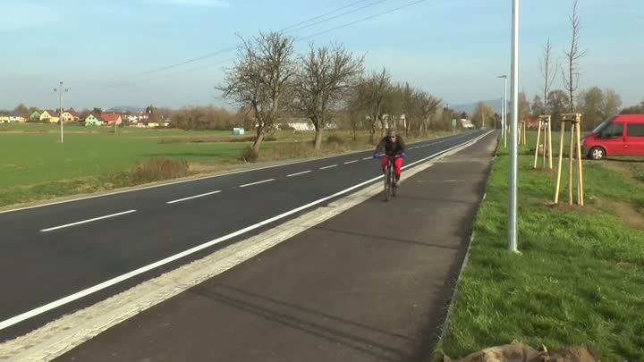 Příšovice mají opravenou silnici a novou cyklostezku