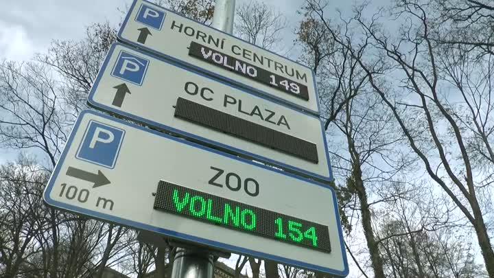 Liberec instaluje další navigační parkovací tabule