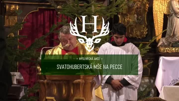 Svatuhubertská mše na Pecce s koncertem Markazínů