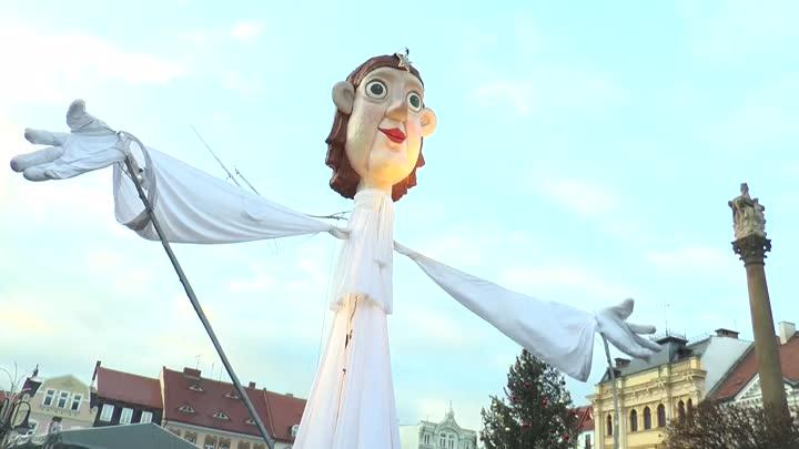 Česká Lípa uvítala advent na náměstí T. G. Masaryka