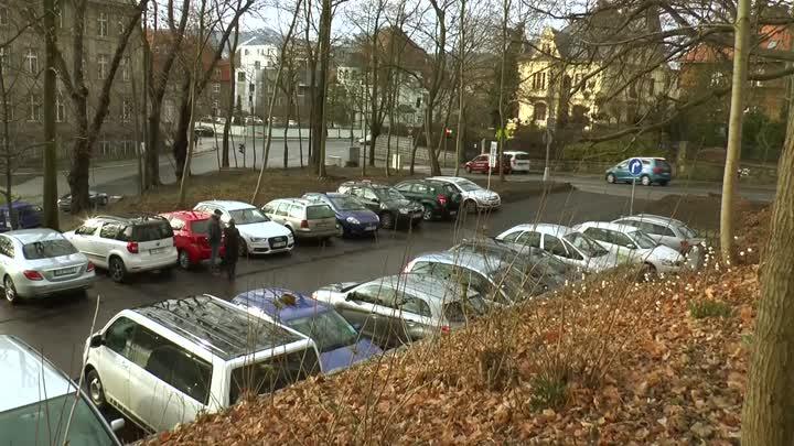 Liberec dokončil stavbu parkoviště v Klášterní ulici