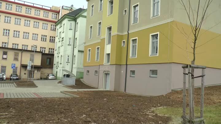 Liberec opravil dům se sociálními byty v Žitavské ulici