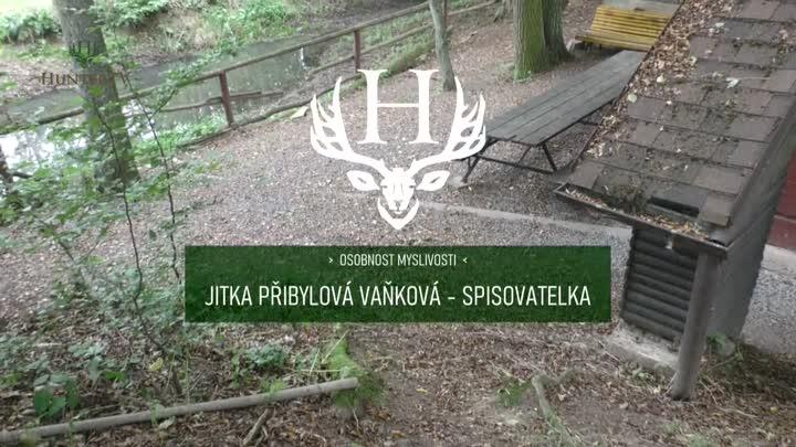 Medailonek spisovatelky Jitky Vaňkové Přibylové