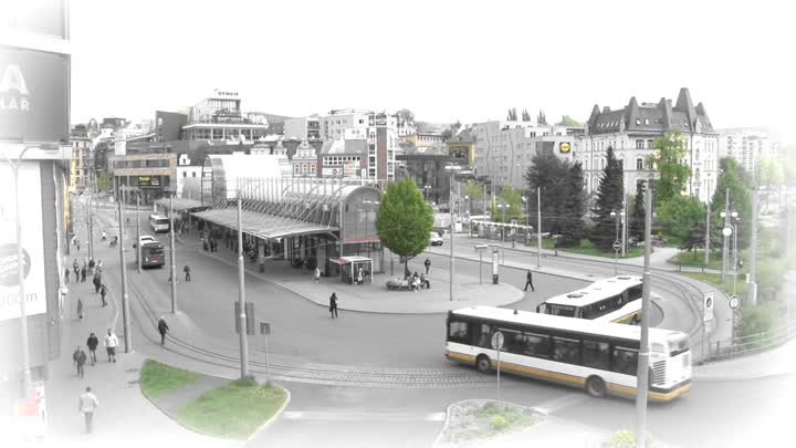 Autobusem, tramvají... - listopad 2018
