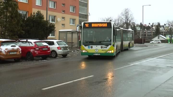 Liberec rozšíří několik autobusových zastávek MHD