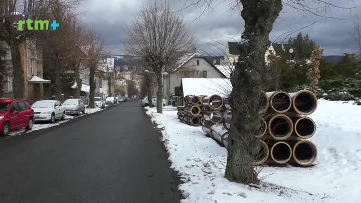 Jablonecký magazín o plánované rekonstrukci ulice V Aleji