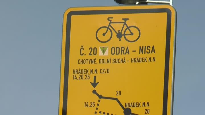 Výstavba cyklostezky Odra-Nisa se pomalu blíží do finále