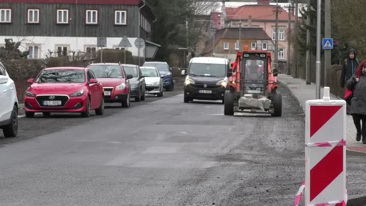 Varnsdorf letos pokračuje v rekonstrukcích silnic