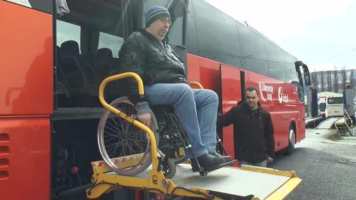 ČSAD Liberec pořídila autobus pro handicapované