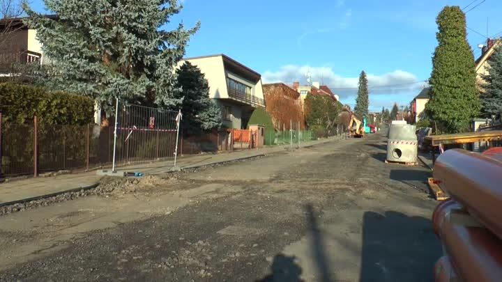 Turnov začal s rekonstrukcí ulice Komenského